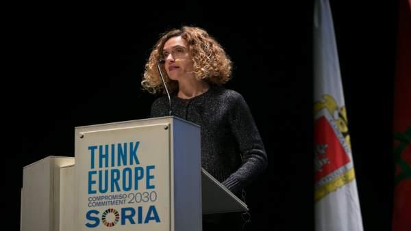 Inauguración III encuentro Think Europe 'Ciudades intermedias'en Soria 16-1-2019