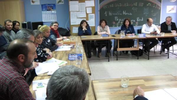 Mesa Político-Técnica de la Red Pajarillos. 16-1-2019