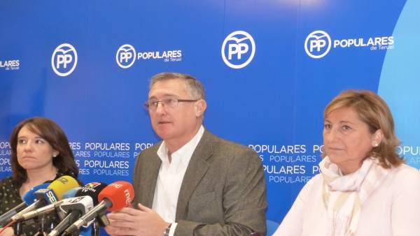 El PP Teruel rechaza los PGE de 2019.