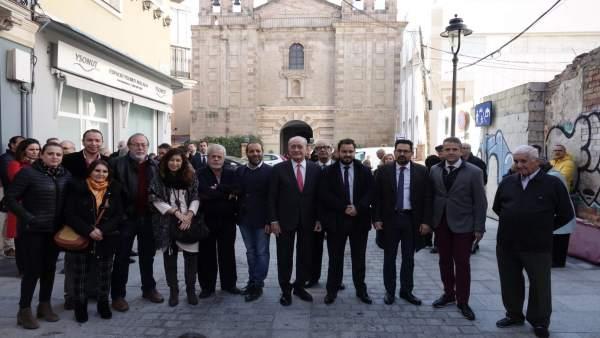 El Ayuntamiento De Málaga Informa: El Barrio Del Perchel Sur Luce Una Renovada A