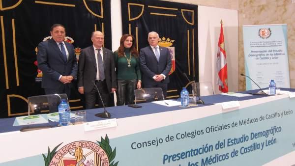 Presentación del Estudio Demográfico de los Médicos de Castilla y León