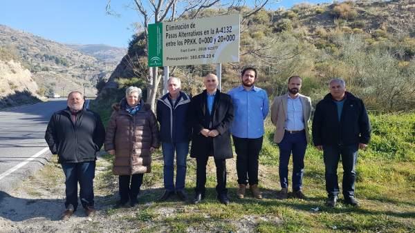 La Junta mejora la seguridad vial en la A-4132 en la Alpujarra