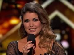 La cantante canaria Cristina Ramos