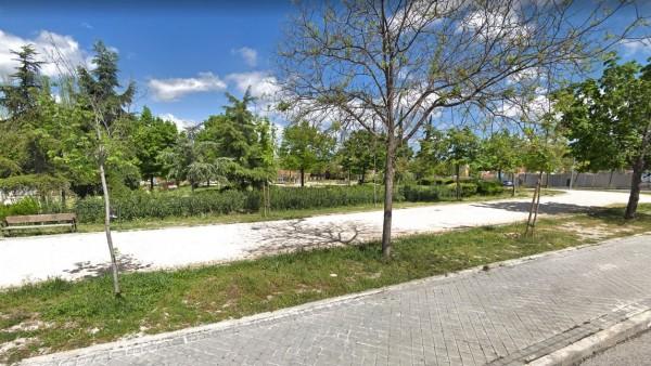 Parque en el que tuvo lugar la agresión