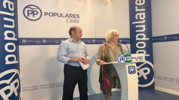 La diputada del PP por Cádiz, Teófila Martínez