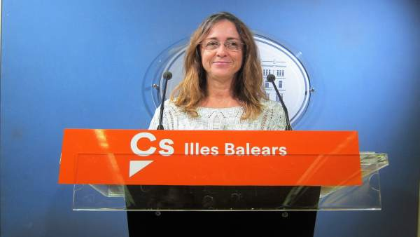 La diputada de Cs, Olga Ballester