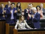 Susana Díaz en el parlamento andaluz