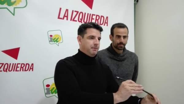 Pedro García con Miguel Bustamante