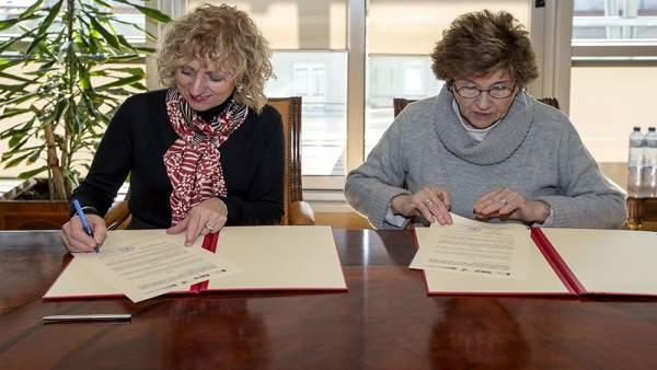Díaz Tezanos y Ruiz-Tagle firman el convenio