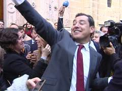 Moreno, nuevo presidente de Andalucía con los votos de Cs y Vox