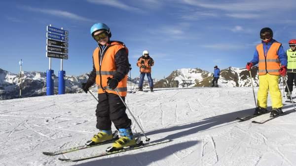 La campaña de esquí ha dado ya comienzo