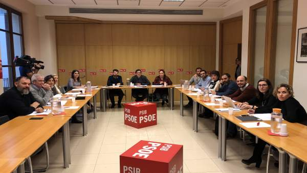 Negueruela presenta los ejes de la Conferencia Política del PSIB