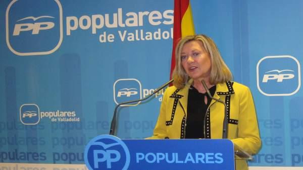La candidata del PP a la Alcaldía de Valladolid. 16-1-2019
