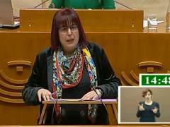 Begoña García en la presentación de la ley sobre espectáculos públicos