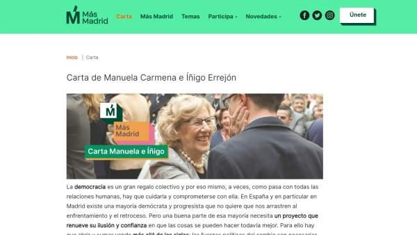 Plataforma Más Madrid