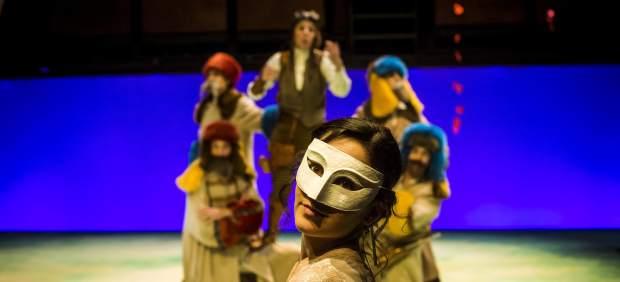 L'obra 'Afanys d'amors perduts' de Pere Planella, adaptació de la comèdia de William Shakespeare.