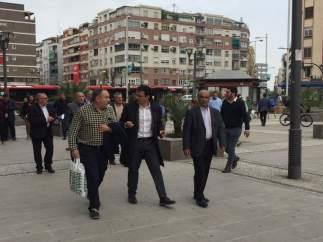 El alcalde, Francisco Cuenca, realiza una visita a la zona de Gonzalo Gallas