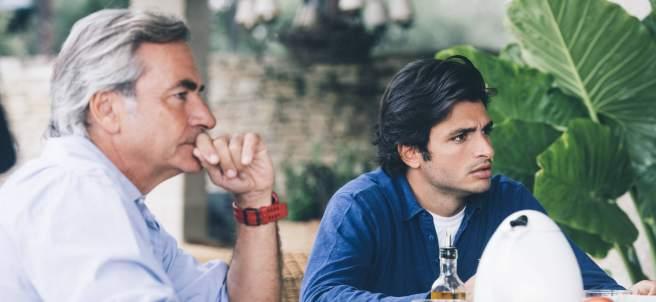 Carlos Sainz Sr. y Carlos Sainz Jr.