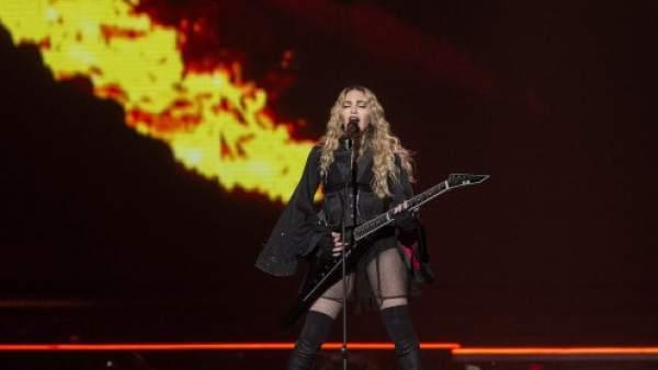 Madonna durante el 'Rebel Heart Tour'