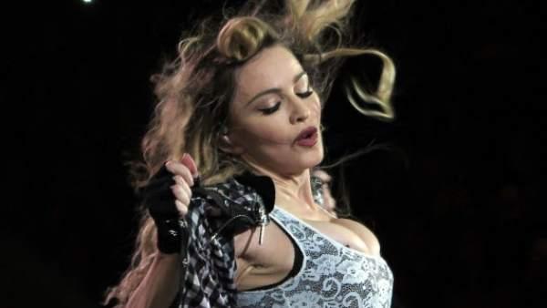 Madonna en Montreal durante su gira 'Rebel Heart Tour'