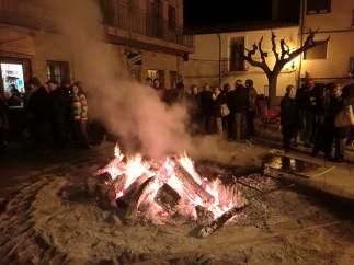 San Esteban de Litera celebra San Antonio