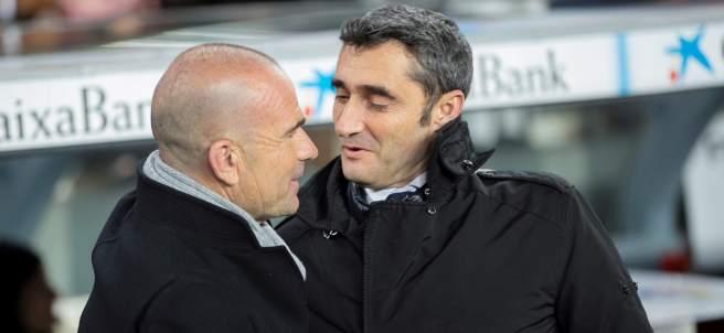 Ernesto Valverde y Paco López