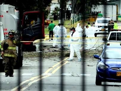 Atentado contra la Escuela de Policía de Bogotá