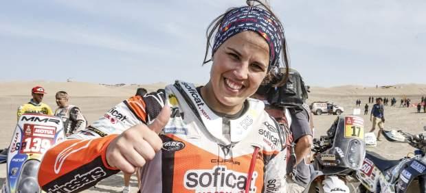 El éxito de Laia Sanz, la reina del Dakar, tras un calvario de enfermedades