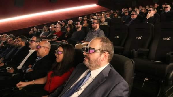 Catalunya Ya Dispone De Una Sala De Cine Con Efectos De Aire Agua