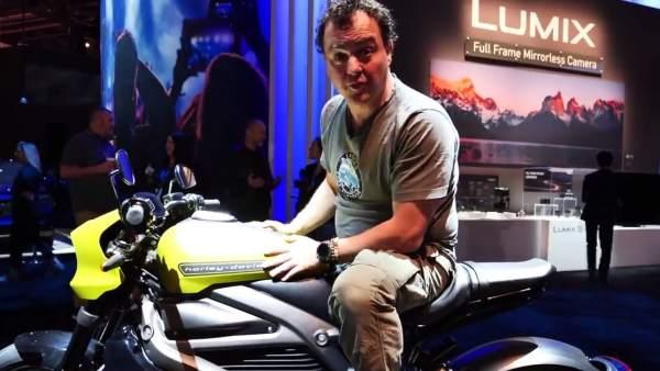 Probamos la primera moto eléctrica de Harley Davidson