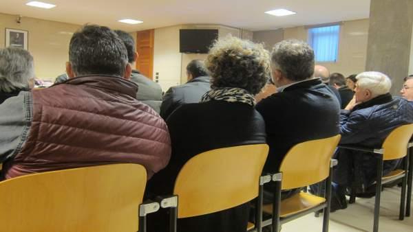 Juicio de la 'Trucarro' con Nené Barral a la derecha