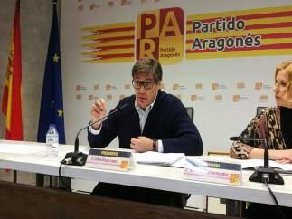 Arturo Aliaga y Rosa Santos (PAR).