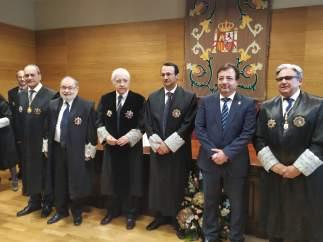 Díaz-Ambrona toma posesión como presidente de la Audiencia Provincial de Badajoz