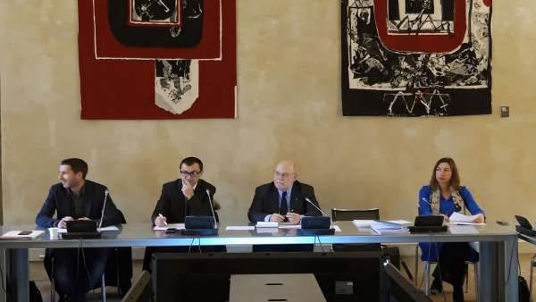 Sota en el comité de evaluación del programa Interreg Sudoe