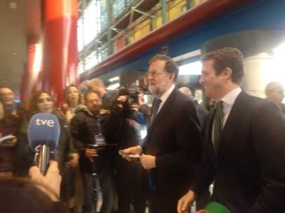 Rajoy y Casado