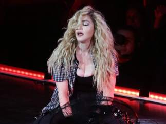 Madonna durante el 'Rebel Heart Tour'
