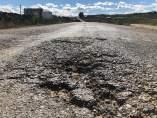 Carretera entre Pozoblanco y Villaharta