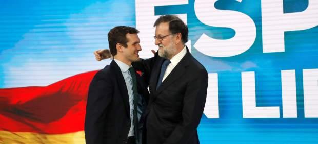 Casado y Rajoy