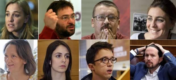 De Monedero a Errejón: la descomposición de Podemos en cinco años