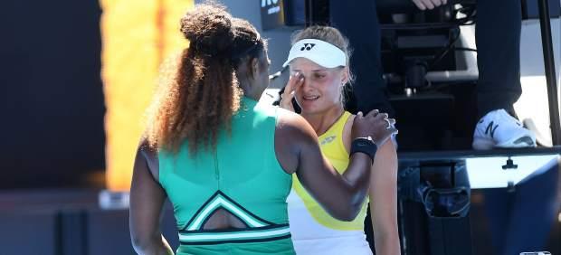 El detalle de Serena en el Open de Australia: consuela a Yastremska tras fulminarla en la pista
