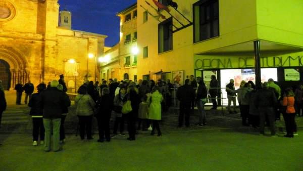 Visita nocturna en Fitero