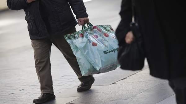 Fotos de recurso de compras navideñas y regalos del día de reyes