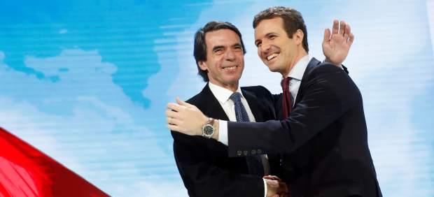 José María Aznar, recibido con una ovación en la Convención Nacional del PP