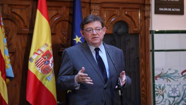 Puig en el brindis de Año Nuevo en Castellón