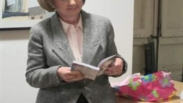 Imagen de archivo de Ángela Hernández en un homenaje en 2016