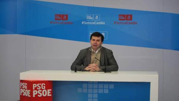 Secretario xeral del PSdeG, Gonzalo Caballero