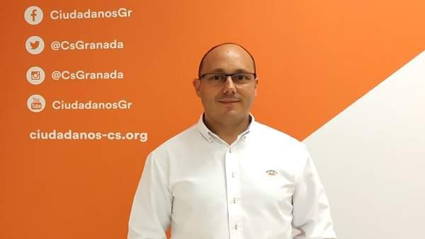 El portavoz de Ciudadanos Baza, Fernando Serrano