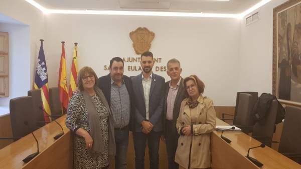 Grupo socialista de Santa Eulalia