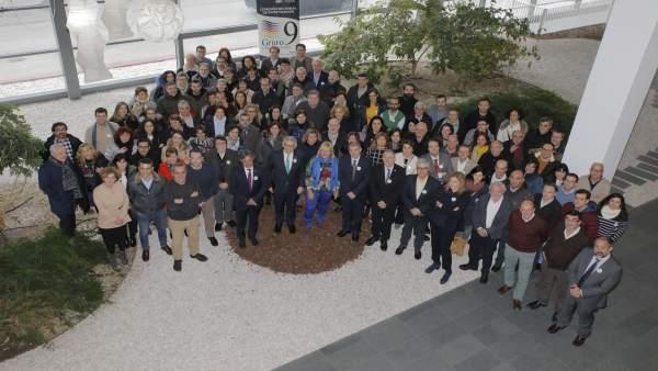 Miembros de la Comisión Sectorial de Investigación del G-9