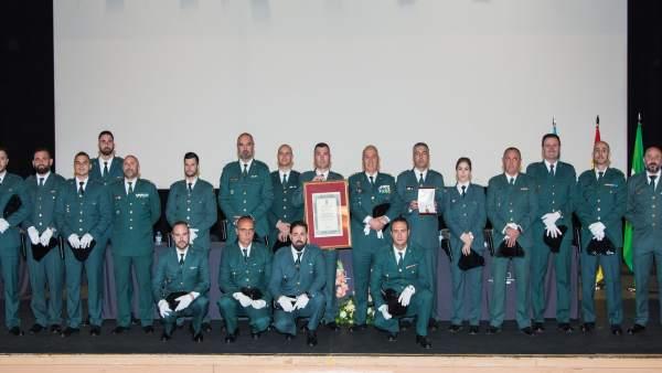 La Guardia Civil recibe la Medalla de Oro de la ciudad